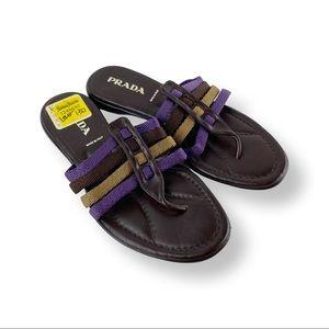 PRADA vintage late 90s sandals